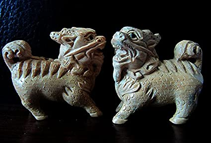 Japan japanese oni who wants to snare sinners boxwood carving