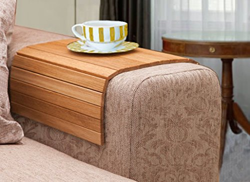 Bamboo Sofa Tray Laptop Mat IPhone Holder Food Tray