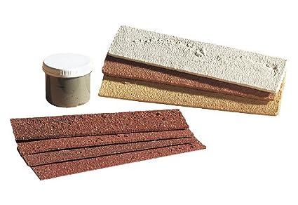 Campione set elastolith spartronic mattoni faccia a vista marrone