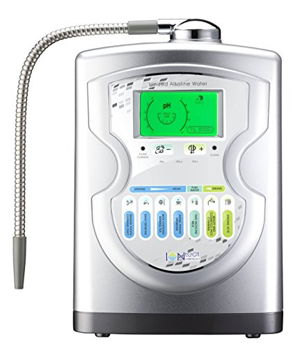 IntelGadgets IONtech IT-757 Advanced Alkaline Water Ionizer Machine 7 pH Water Levels, Platinum Titanium Electrolysis Plates