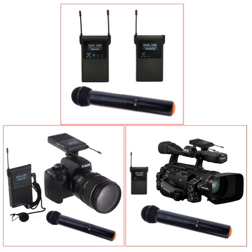 Neewer Wireless Lavalier Microphone Standard