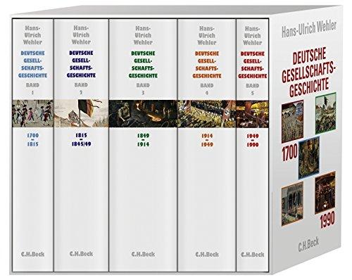 Deutsche Gesellschaftsgeschichte Band 1-5 Taschenbuch – 15. September 2008 Hans-Ulrich Wehler C.H.Beck 3406578721 Deutschland