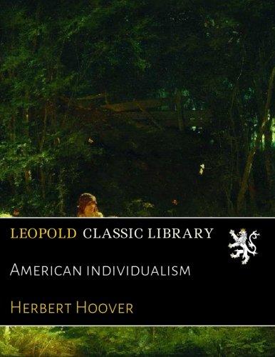Read Online American individualism pdf epub
