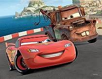 Disney Pixar Cars Mater & Lightnin McQueen Lenticular 3D Puzzle - 24 Pieces