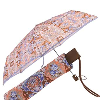 Oilily Summer Mosaic - Paraguas, diseño estampado, color beige