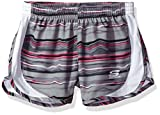 Skechers Big Girls' Sport Running Short, Black Stripe, Small (8-10)