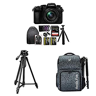 Panasonic Lumix G DC-G95 20.3MP Mirrorless Camera with 12-60mm Lens + Digitek 550LW Tripod with Digitek 550LW Tripod… 6
