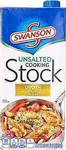 Swanson Unsalted Chicken Stock, 32 oz