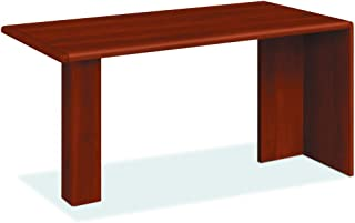 product image for HON 10726CO 10700 Series Peninsula, Wood Support Column, 60w x 30d x 29 1/2h, Cognac