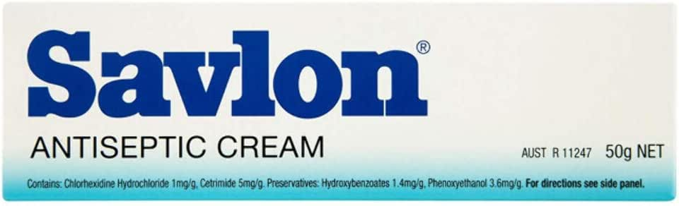 Savlon Antiseptic Cream Natural Healing, 50g