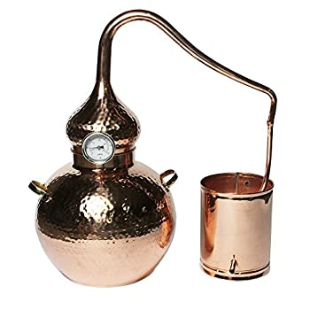 Image of 5 Gallon Copper Alembic Still for whiskey, moonshine, essential oils, etc.