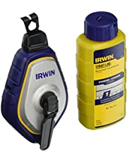 Irwin 1932887 Speedline Pro Chalk Reel, Blue