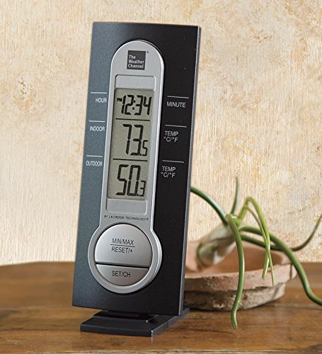 The Weather Channel Wireless Thermometer With Sensor by L...