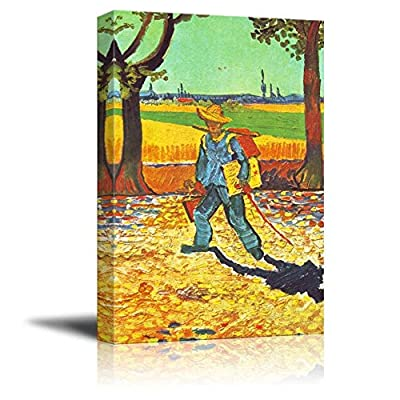 Painter on his Way to Work by Van Gogh
