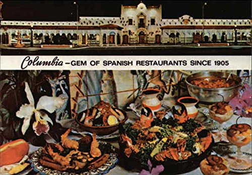 Amazon Com Columbia Gem Of Spanish Restaurants Since 1905