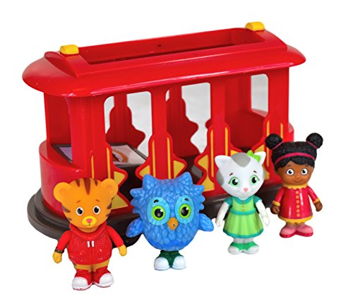 [Daniel Tigers Neighborhood Trolley and Figures Set by Unknown] (Max Fisher Costume)