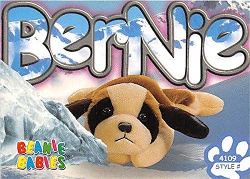 TY BEANIE BABIES-BERNIE THE DOG! LNWT!