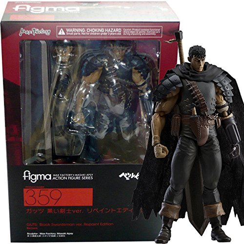 Max Factory Berserk: Guts (Black Swordsman Version) Figma Action Figure from Max Factory