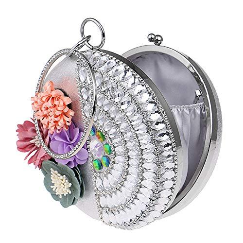 Sacs De À Main Pour Beck Prom Party Soirée Womens Bling Bag Femmes Mariée B couleur Orlando Clutch Glitter A Sac Bourse 5AEwwWq7n