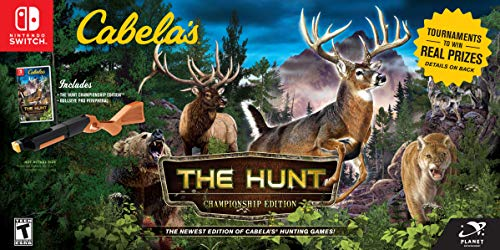 Cabela's: The Hunt Championship Edition Bundle - Nintendo Switch Big Buck Hunter Online