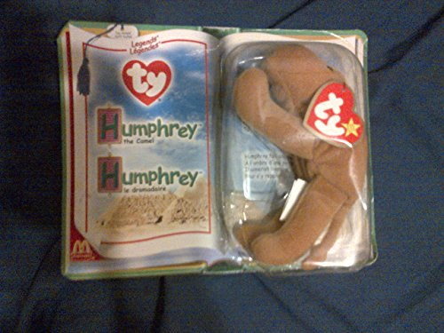 McDonalds Collectible TY Beanie Babies Humphrey the Camel...