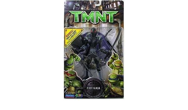 Amazon.com: TMNT Movie Foot Ninja Action figure with PC Game ...