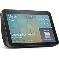 Nuevo Echo Show 8 (2da generación, edición 2021) - Pantalla inteligente HD con Alexa y cámara de 13 MP - Negro