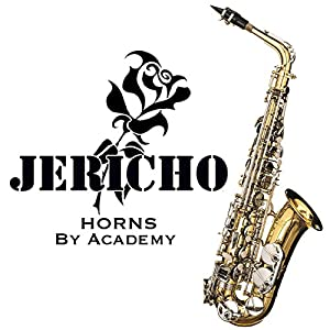 Saxophone Instrument - Jericho Alto in Gold and Nickel by Academy® has been Compared to the Yamaha 62 - Considered One of the Best Budget Student Beginner Saxophones on the Market