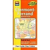 Plan de ville : Clermont-Ferrand (avec un index)