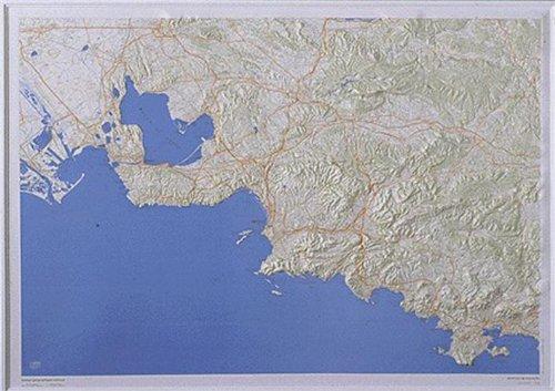 Environs De Marseille Carte En Relief Echelle Au 1 100000 Amazon Co Uk Ign 3282116015032 Books