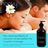 Nooky Coconut Massage Oil. with Fractionated