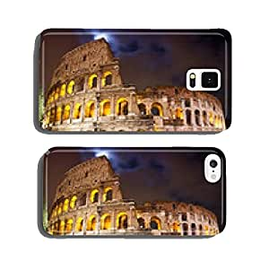 View of the Colosseum at night cell phone cover case Samsung S5