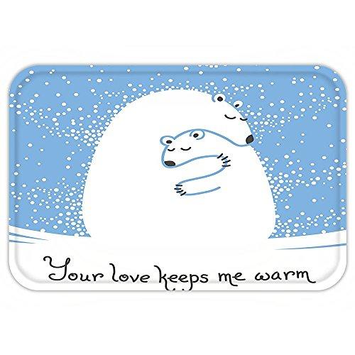 Vroselv Custom Door Matanimal Decor Mother Polar Bear
