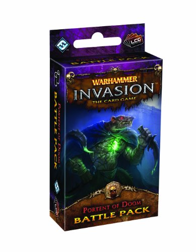 Fantasy Flight Games Warhammer Invasion: The Card Game - Portent of Doom Battle - Miniatures Scorpion Black