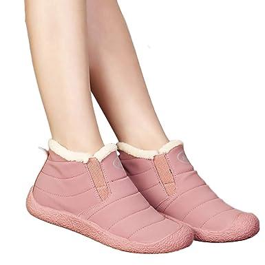 e34c790deb02f Amazon.com: Memela Warm Snow Boots, Winter Warm Ankle Boots ...