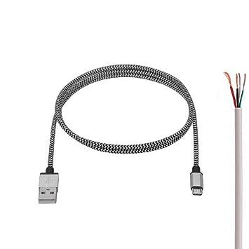 Haodou. Cable Micro USB 3 Pack Carga Rápida Aioneus Cargador ...