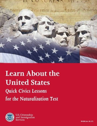 Buy cheap learn about the united states quick civics lessons for naturalization test revised january 2017