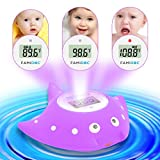 Famidoc Baby Bath Thermometer with Room Thermometer NEW Upgraded Sensor Technology for Baby Bath Tub Floating Toy Thermometer