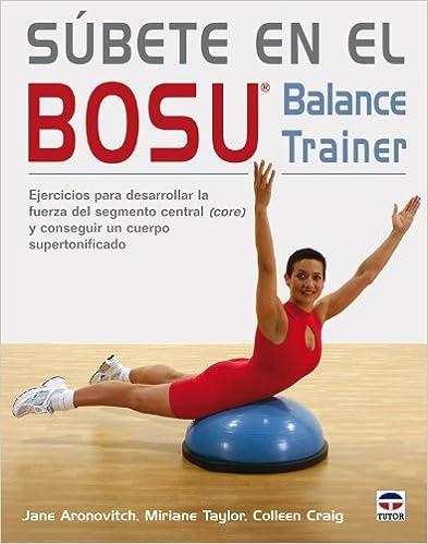 Libro con ejercicios y consejos para utilizar el BOSU