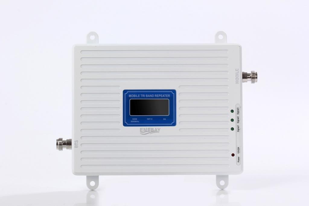 900//2100//1800//MHz EMEBAY Amplificadores de Se/ñal M/óvil Tri-Banda Repetidor 2G 900MHz 2100MHz LTE 1800MHz para Obtenga Perfectas Llamadas Se/ñal 3G y 4G en Su Casa//Oficina