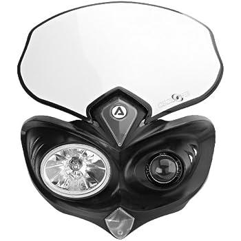 Amazon Com Acerbis 2042690001 Cyclops Black Headlight