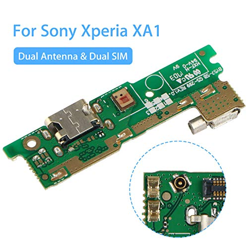 EEEKit Micro USB Charger Charging Port Replacement USB Port Flex Cable Dock Connector for Xperia XA1 G3121 G3116 G3123