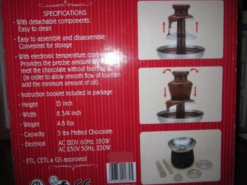 Buy rated chocolate fountain
