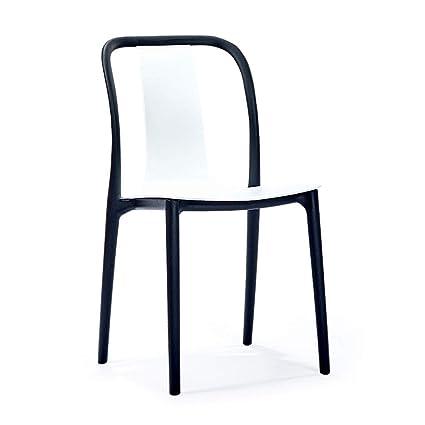 Amazon.com: FJZ Chair Huiqi Chair Modern Minimalist Dining ...