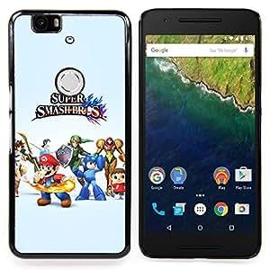 SKCASE Center / Funda Carcasa protectora - Super Smash Brothers;;;;;;;; - Huawei Google Nexus 6P