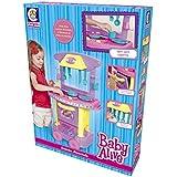 Baby Alive Cozinha Divertida Cotiplás Azul/Rosa