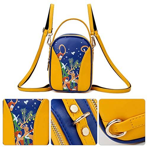 jaune Une Borsa comme Cutebility Tracolla Donna Description w1ZYFx65q