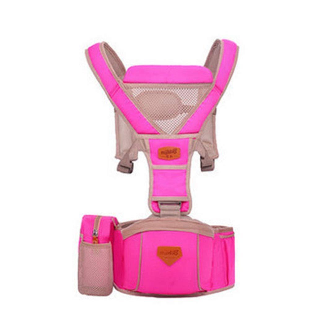 Mr. Fragile 2 en 1 portabebés Transpirables, portabebés Ajustable y ergonómico, con Bolsa de Almacenamiento, Adecuado para 3-36 Meses, Varias Maneras de Usar, Capacidad de Carga 20 kg,Blue