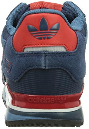 Mode Navy Adidas Mixte 750 collegiate Bleu Ftw White running Zx Adulte poppy Baskets RZRwxqtAHT