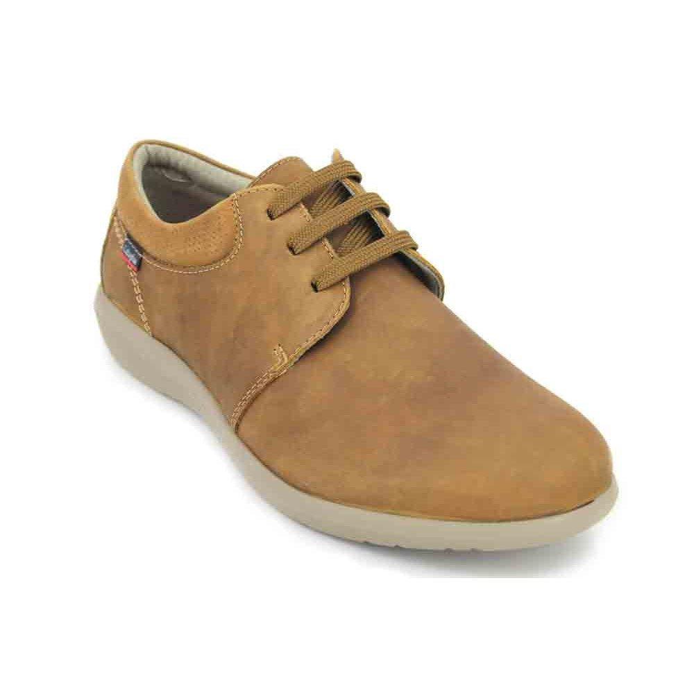TALLA 43 EU. Zapato Callaghan De Piel Marron 14600